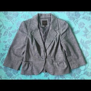 3/4 Sleeve Cropped Blazer, The Limited